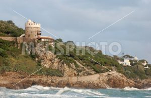Cervia tower and Circeo cape lighthouse - MeusPhoto
