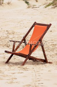 Deckchair on the beach - MeusPhoto