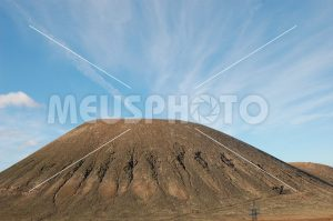Fuerteventura hill with stripes - MeusPhoto
