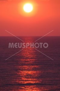 Sunset at sea - MeusPhoto