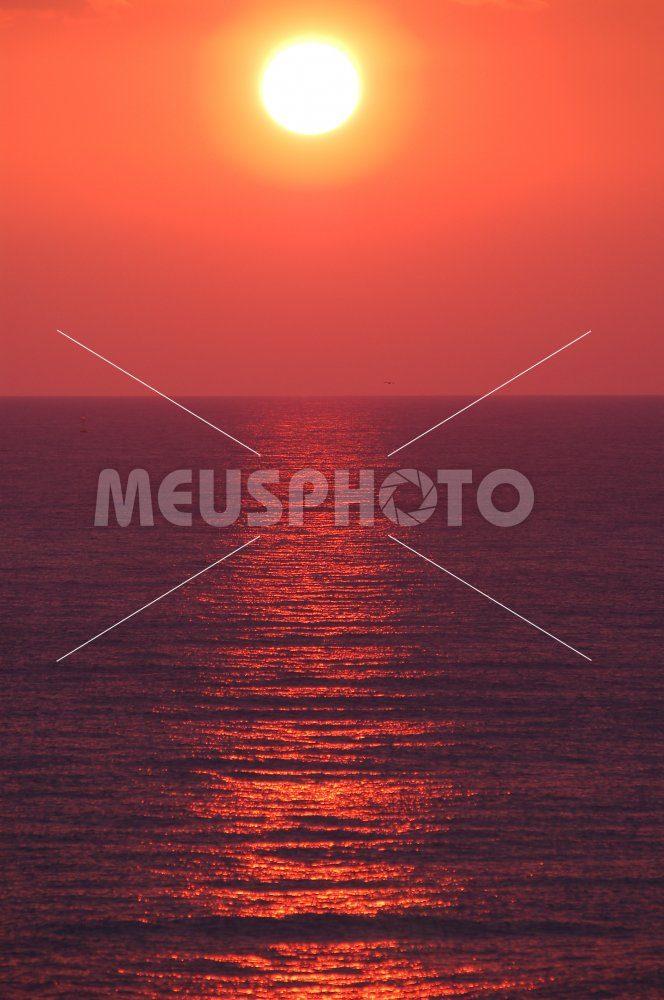 Sunset at sea - MeusPhoto