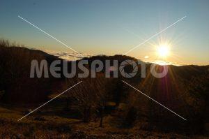 Sunset on the Sila mountains - MeusPhoto