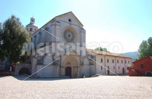 Abbazia Fossanova panoramic view - MeusPhoto
