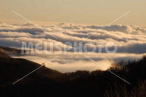 Clouds on the Sila mountains - MeusPhoto