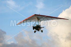 Hang gliding man - MeusPhoto