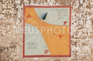 Sundial on the wall - MeusPhoto