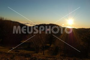 Sunset on the Sila mountains - MeusPhoto