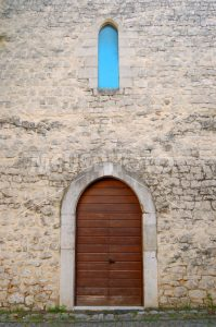 Borgo Fossanova door with window - MeusPhoto