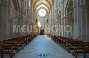 Fossanova Abbey central nave - MeusPhoto