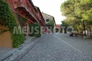 Fossanova Village ancient road with houses - MeusPhoto